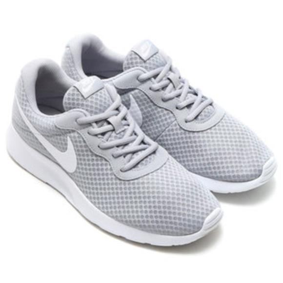 Nike Tanjun Gray Running Sneakers 999a09943